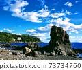 真鶴高浦海岸的岩石區 73734760