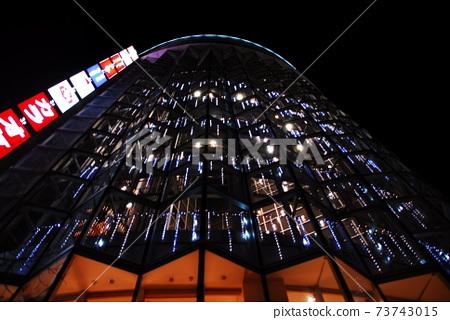 거리.오사카.밤풍경 73743015