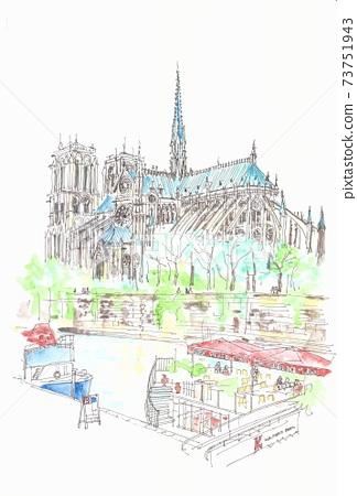 世界遺產 - 巴黎圣母院 73751943