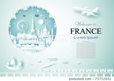 Travel France ancient and castle architecture monument. 73752842