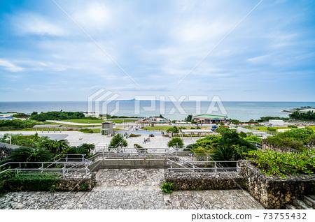 """從""""沖繩縣""""美麗海水族館中看到的海遊公園 73755432"""