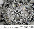 diamond structure star shape and kaleidoscope background 73761080