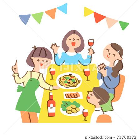 家庭聚會 73768372