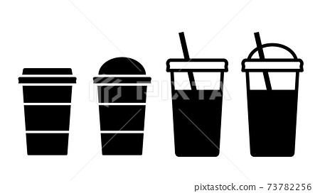 4種外賣飲料圖標 73782256