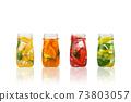 Summer fruit cocktails. 73803057