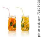 Summer fruit cocktails. 73803058