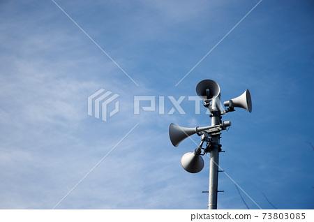揚聲器,戶外,晴天,廣播 73803085