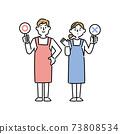 男女圍裙的標語正確與不正確 73808534