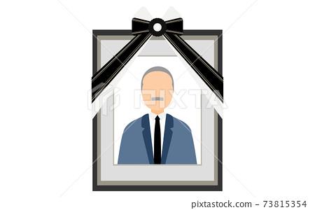 一套西裝的老人反映在死者身上 73815354