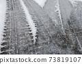 Freezing road surface 73819107