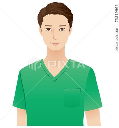 年輕的男醫生醫療 73819968