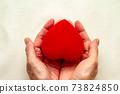 紅色絲帶禮物的圖像 73824850