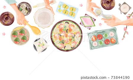 Hinamatsuri餐桌圖 73844190