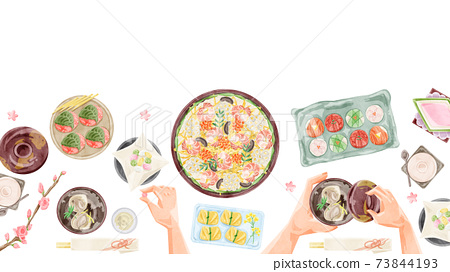 Hinamatsuri餐桌圖 73844193