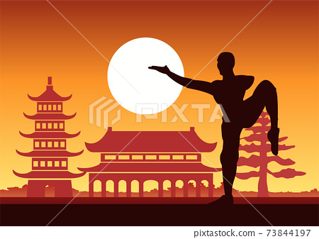 Chinese Boxing Kung Fu martial art famous sport 73844197