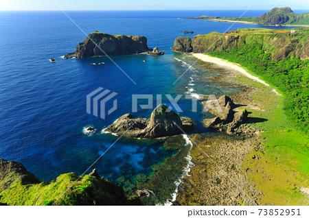睡美人岩,綠島,海岸風景,哈巴狗岩 73852951