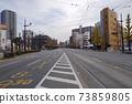 Ghost town lockdown self-restraint city street 73859805
