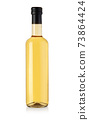 oil glass bottle isolated 73864424