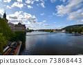 [체코] 프라하를 흐르는 몰 다우 강 73868443