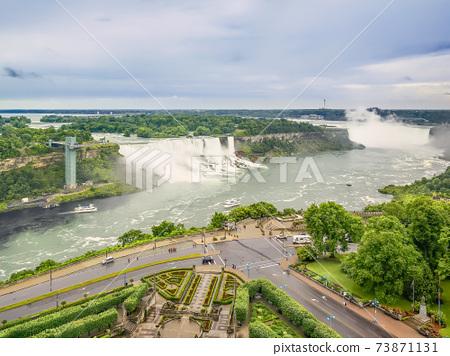 尼亞加拉大瀑布尼亞加拉大瀑布,加拿大和美國 73871131