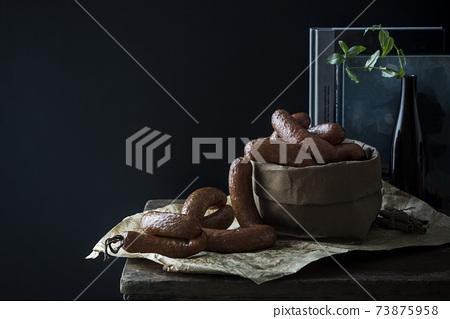 一串肉香腸 73875958