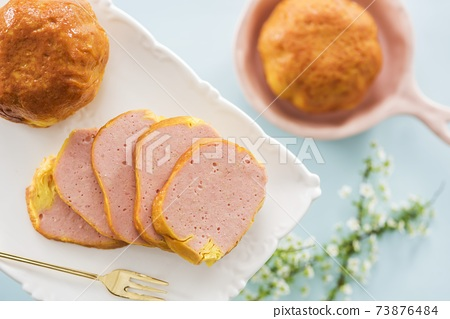特產熟食五香肉蛋捲切片 73876484