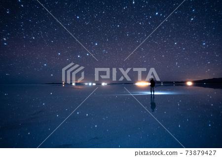 Big Dipper at Uyuni salt lake 73879427