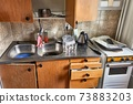 Dirty Kitchen Detail 73883203