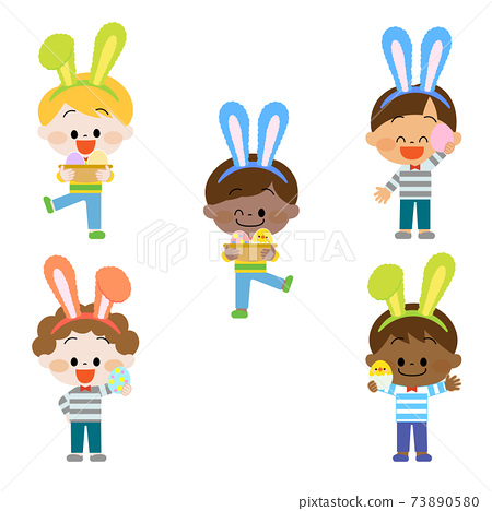 耳朵蓬鬆的孩子 73890580