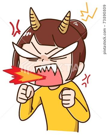 沮喪和非常生氣的女人 73890809