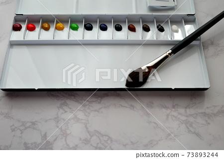 Watercolor palette 73893244
