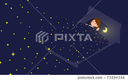 flat type business women_Dreams of the Stars 73894386