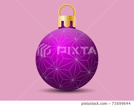 [日式]聖誕節裝飾品粉紅色 73899644