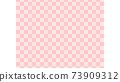 感覺日本粉紅色花紋花紋的背景材料花紋花紋框架 73909312