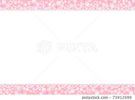 櫻桃花邊框架 73912899