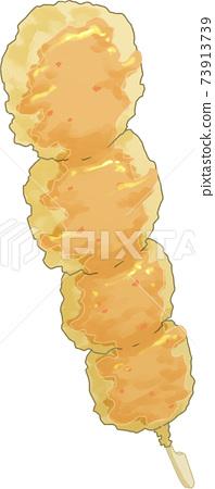 北土豆天婦羅串香辣醬 73913739