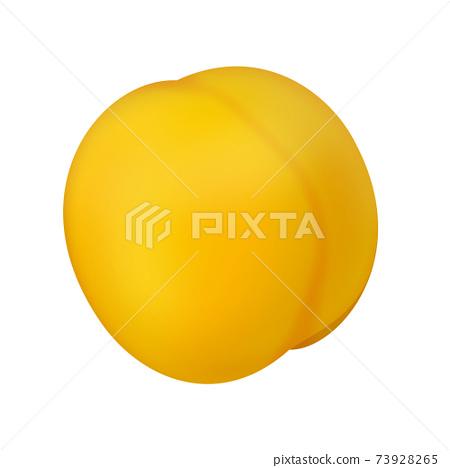 yellow peach 73928265