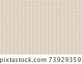 Illustration material Background material Japanese pattern Saaya pattern vector 73929359