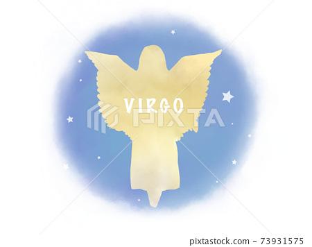 Virgo cut illustration 73931575