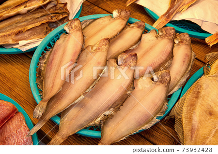 반건조 생선, 가자미 73932428