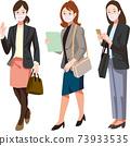一個戴著面具,出去做生意的女人 73933535