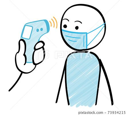 체온계 사람들과 체온 기계 감염증 대책 73934215
