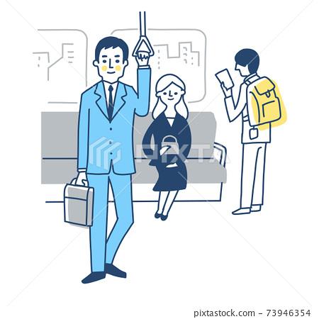 火車和乘客內 73946354