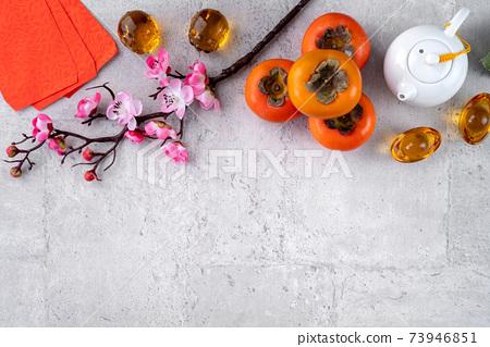 柿子 農曆新年 新年 紅包 persimmon chinese new year あまかき 甜柿 73946851