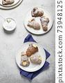 Italian traditional dessert aragosta 73948125