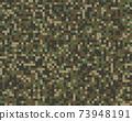 Seamless pattern of digital militaristic camouflage 73948191