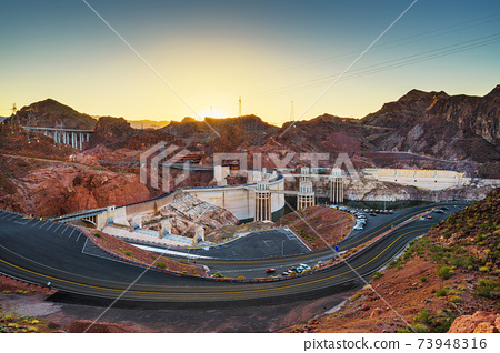 Hoover DamHoover Dam on the Colorado River 73948316