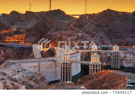 Hoover DamHoover Dam on the Colorado River 73948317