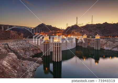 Hoover Dam, Arizona, USA 73948319