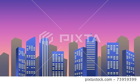 Dusk_office district 73959399